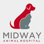 Midway Animal Hospital logo